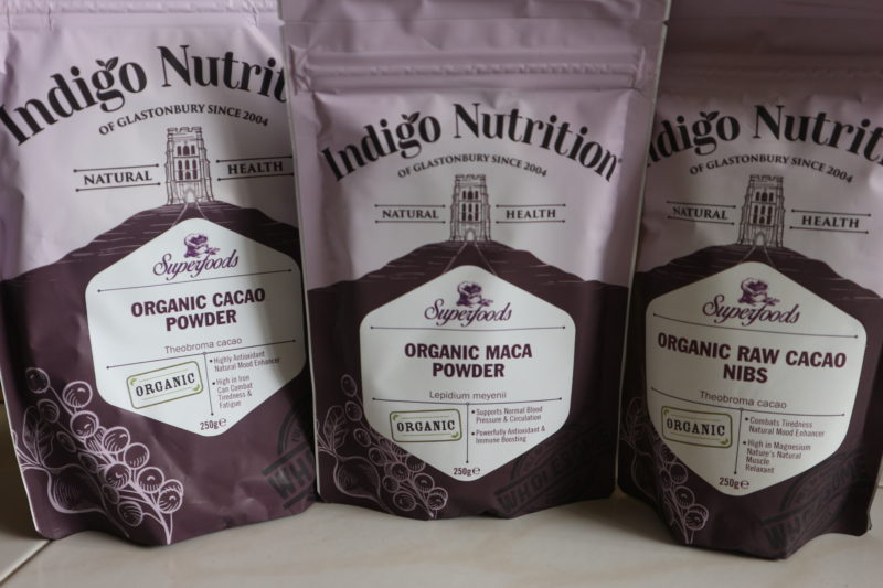 ingredients from indigo herbs