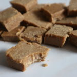 sophia leigh's almond butter fudge