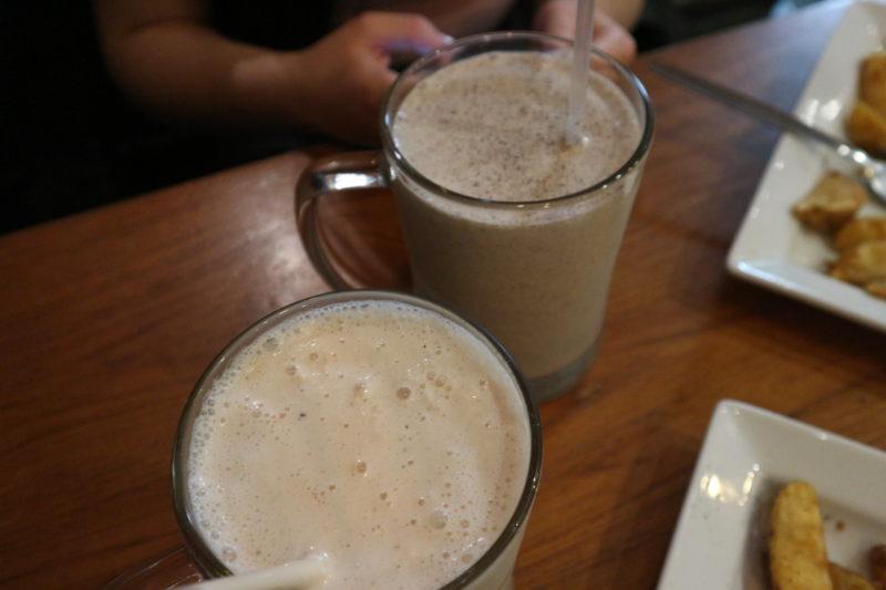 milkshakes at Maggie Mays