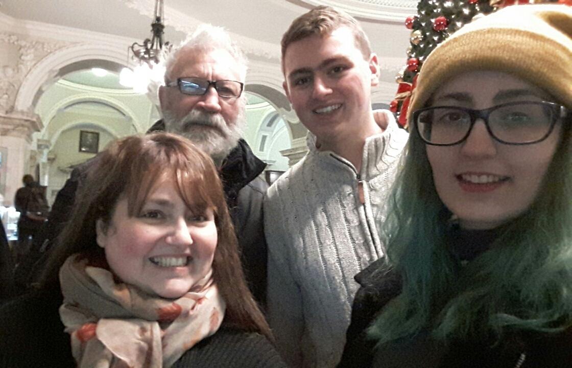 christmas in ireland, city hall, belfast